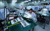 在越南設廠的韓資電子企業。