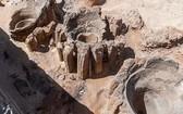 考古學家在埃及哈傑省阿拜多斯古城北部發現了一家有5000年曆史的大規模生產啤酒廠。(圖源:互聯網)