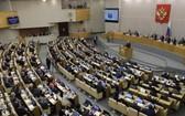 俄羅斯國家杜馬全體會議現場。(圖源:EPA)