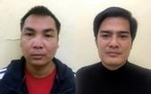 被捕的兩名嫌犯陳春協(左)和阮維方。(圖源:警方提供)
