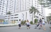 平政縣某社會住房項目的綠化公共空間。