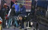 圖為警方勘察現場。(圖源:AP)