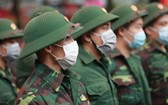 河內首都司令部將對4000多名入伍新兵全部進行新冠病毒檢測。(示意圖源:明德)