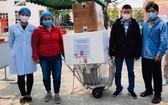 圖為大水鑊醫院的快速反應小組於2月20日啟程趕往海陽省,為該省的疫情防控工作提供支援。(圖源:院方提供)