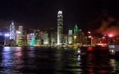 香港夜景一瞥。(圖源:互聯網)