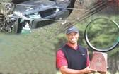 高爾夫球巨星,左上圖為事發現場。(圖源:互聯網)