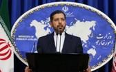 伊朗外交部發言人哈提卜扎德。(圖源:阿納多盧通訊社)