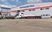 圖為設在巴地-頭頓省富美市進雄工業區內的 Pavonine Vina公司。(圖源:田升)