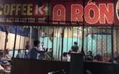 職能力量突擊檢查A Rôn咖啡館。(圖源:T.H)
