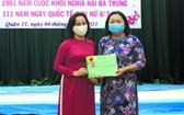 第十一郡婦聯會 11 名華人會員獲介紹入黨