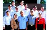 張和平副總理與隆安省選民接觸
