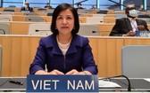 越南常駐聯合國代表團團長黎氏雪梅大使。(圖源:越通社)