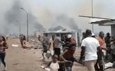 本月7日,巴塔一處軍事區域發生嚴重爆炸事故,造成重大人員傷亡、大批房屋損毀。事故起因是軍火保管部門疏忽,致使附近農場發生的火災殃及軍火庫,引發連環爆炸。(圖源:互聯網)