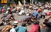 緬甸2月初以來已有2千多名抗議者被捕。(圖源:路透社)