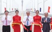 政府總理阮春福出席會門橋通車儀式。(圖源:VGP)