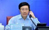 政府副總理、外交部長范平明。(圖源:外交部)