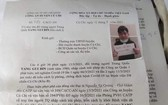 古芝縣公安機關發佈通報追尋逃離者Yang Gui Bin。(圖源:A.T)