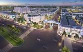 圖為距離隆城機場約2公里的Century City 項目透視效果圖。(圖源:映陽)