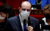 法國總理卡斯泰表示,受多種變種新冠病毒影響,法國處於第三波疫情中。(圖源:路透社)