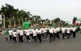 """""""為全民健康-奧林匹克跑步日""""發起"""