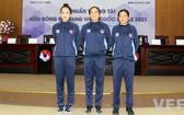 2021年越南足球甲級聯賽可首次有兩名女裁判。(圖源:VFF)