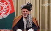 阿富汗總統加尼。(圖源:CCTV視頻截圖)