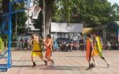 穗城會館贊助少兒籃球賽