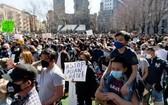 紐約市的示威集會現場。(圖源:路透社)