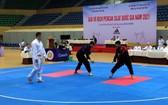 2021年馬來武術錦標賽比賽一瞥。(圖源:陳黎琳)