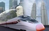 馬來西亞和新加坡兩國政府29日發表聯合聲明,宣佈馬來西亞將就吉隆坡到新加坡高鐵項目取消向新加坡賠償1億零280萬新元。(圖源:互聯網)