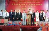六桂堂宗祠第十二屆理監事會理事長翁文貴致謝詞。