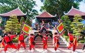 蓮潭文化公園每年均舉辦嚮往根源文藝節目。
