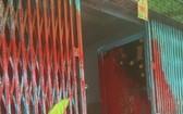 遭人撥油漆的一間民房。(圖源:志石)