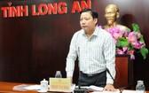 隆安省人委會副主席范晉和。(圖源:隆安報)