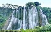 靖西三疊嶺瀑布。