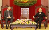 總書記阮富仲接見美國駐越大使