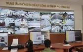 巴地-頭頓省公安交通監察中心接受51號國道監控系統傳輸的圖片。