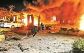 當地時間21日晚10時30分,巴基斯坦俾路支省首府奎達的塞倫納酒店停車場發生汽車爆炸事件。(圖源:互聯網)