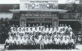 1975年南部西區各省華校教師在民立政治學習班留影。