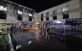 發生火災的醫院。(圖源:互聯網)