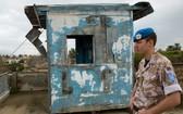 聯合國駐塞浦路斯維持和平部隊控制著敵對雙方之間的緩衝區。(圖源:聯合國)
