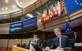 歐洲議會28日表決通過英歐貿易協議,英國脫歐之後的雙方關係進入新的篇章。(圖源:新華社)
