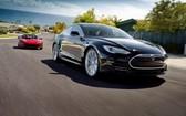 圖為特斯拉四門電動轎車Model S。(示意圖源:互聯網)