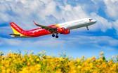 越捷航空多條國內及國際航線復航。