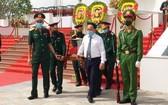 烈士骸骨追悼與安葬儀式現場一隅。(圖源:香江)