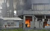 日本福島縣一家化學工廠11日上午發生爆炸,導致4人輕重傷送醫。(圖源:共同社)