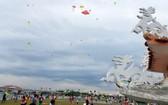 在機場附近放風箏對起降的航班會造成一定程度的安全威脅。(示意圖源:玉顯)