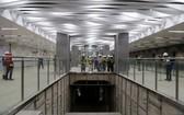 地鐵1號線巴遜站全景。