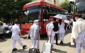 海陽 250 大學生馳援北江、北寧抗疫