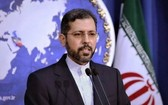 伊朗外交部發言人哈蒂布扎德。(圖源:推特)